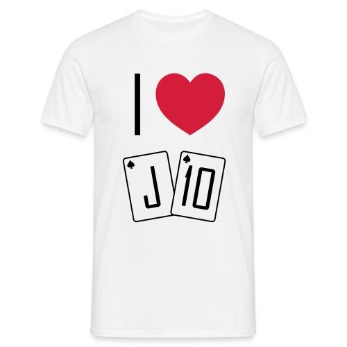 I love JT - T-shirt Homme