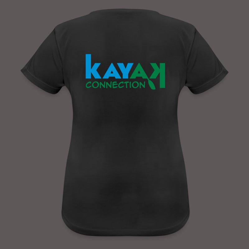 logo_kajakconnection_300d - Frauen T-Shirt atmungsaktiv