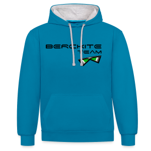 Berckite Team Vert Foret - Sweat-shirt contraste