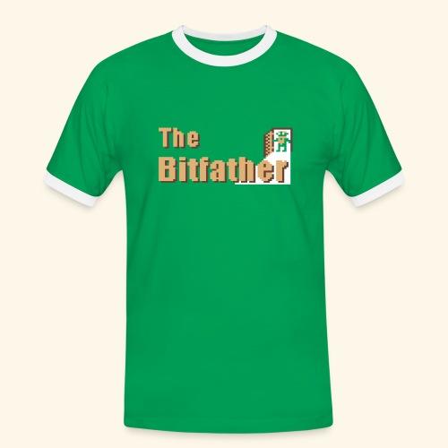 Green - Männer Kontrast-T-Shirt