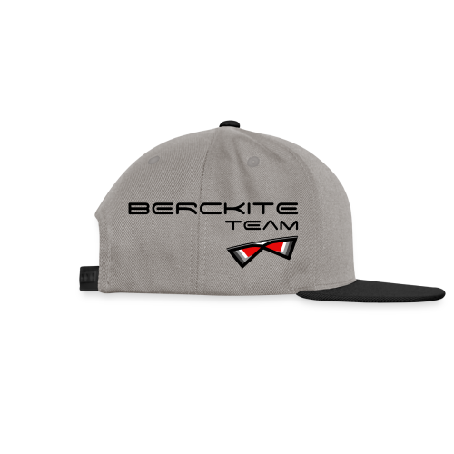 Berckite Team Rouge - Casquette snapback