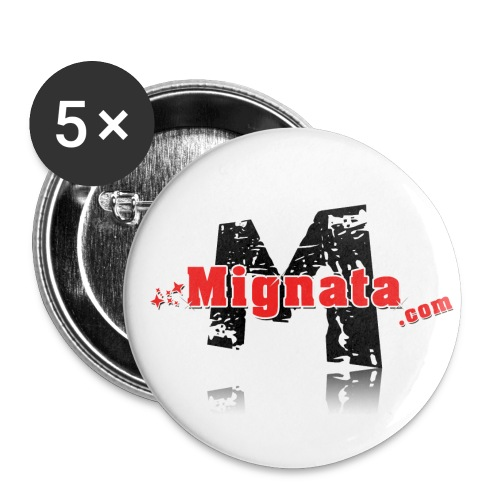 Badge logo Mignata.com - Badge moyen 32 mm