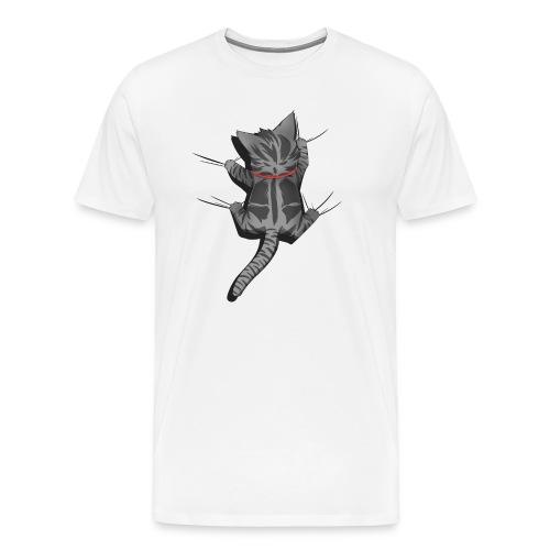 Chat grimpe - T-shirt Premium Homme