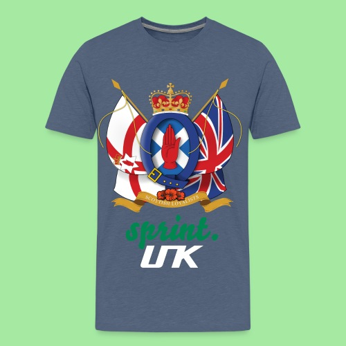 Sprint. UK Premium Teenager's T-Shirt - Teenage Premium T-Shirt