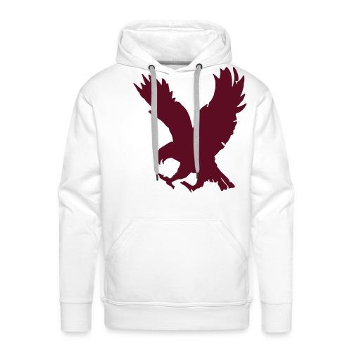 Fauna SpreadShirt Design Eagle Hoodie - Men's Premium Hoodie