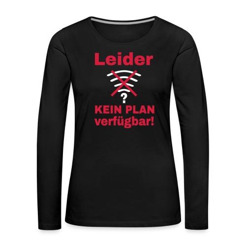 Wlan Nerd Sprüche Motiv Langarmshirts - Frauen Premium Langarmshirt