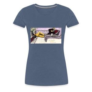 Create, Relax, Procrastinate, D - Premium-T-shirt dam