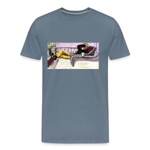 Create Relax Procrastinate, M - Men's Premium T-Shirt
