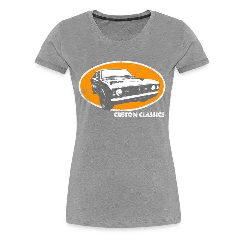 Skull & Pistons Custom Classics T-Shirt - Women's - Women's Premium T-Shirt