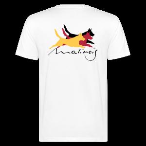 Malinois - german color - Männer Bio-T-Shirt