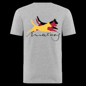 Malinois - german color - Männer Slim Fit T-Shirt