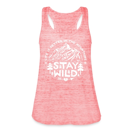 Stay Wild Tank Top - Frauen Tank Top von Bella
