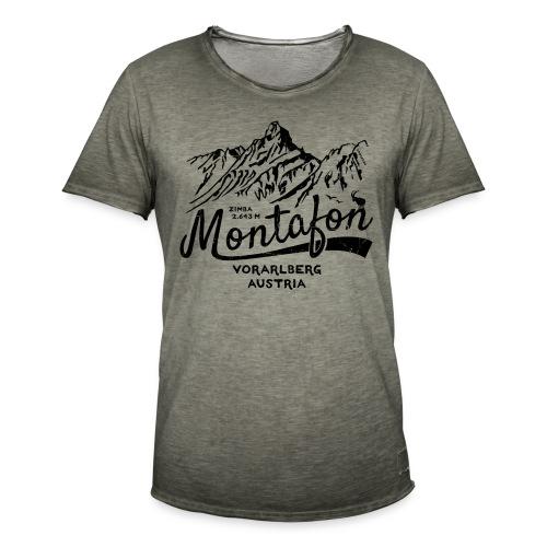 Montafon Zimba T-Shirt - Männer Vintage T-Shirt
