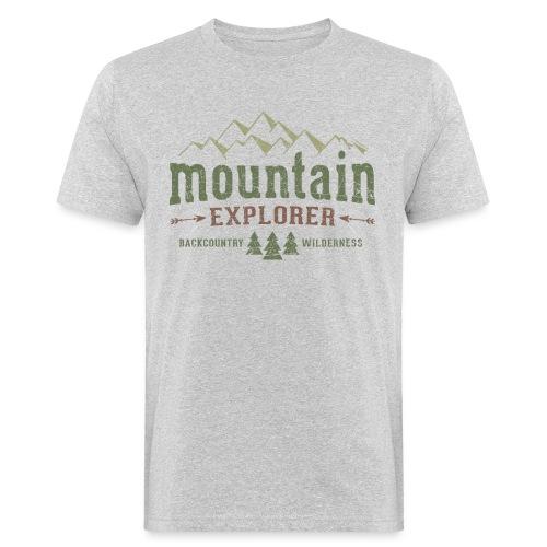 Mountain Explorer T-Shirt - Männer Bio-T-Shirt