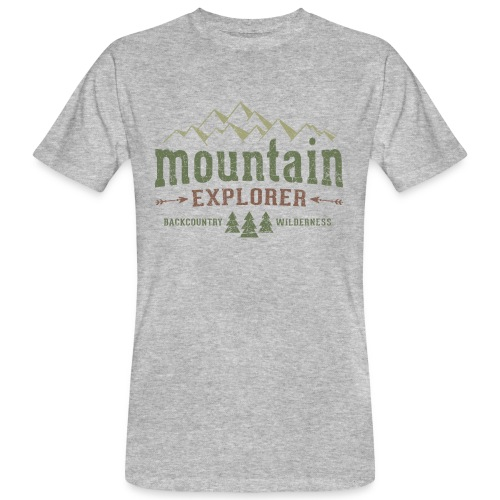 Mountain Explorer T-Shirt - Männer Bio-T-Shirt