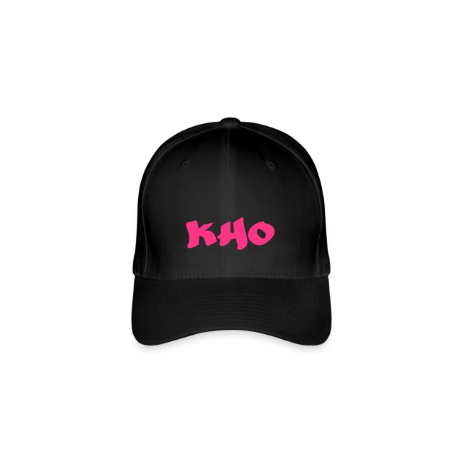 Casquette Flex fit Black & Pink