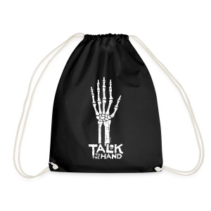 Talk to the Hand Bag - Drawstring Bag