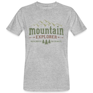 Mountain Explorer T-Shirt - Men's Organic T-shirt