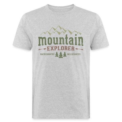 Mountain Explorer T-Shirt - Men's Organic T-Shirt