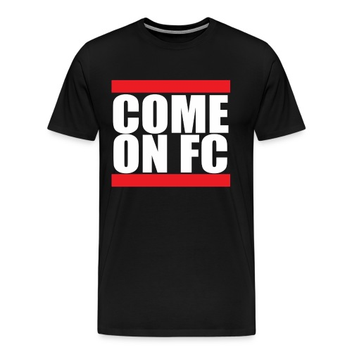 Come On FC - Herre premium T-shirt