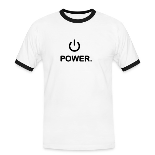Power - T-shirt contrasté Homme