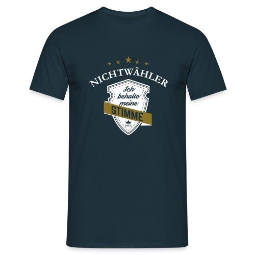 Nichtwähler - Männer T-Shirt