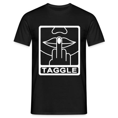 T-Shirt TAGGLE - Noir - T-shirt Homme