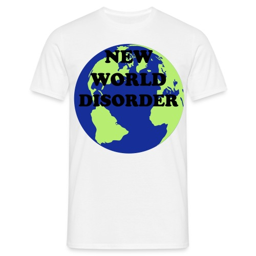 new world disorder - Men's T-Shirt