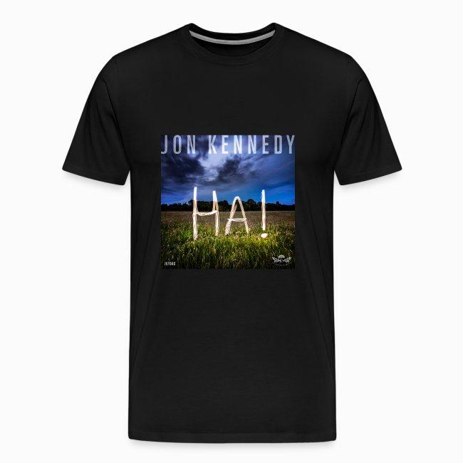 "Jon Kennedy - ""HA!"" LP cover"