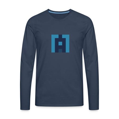 Lifealbum M blue - Herren Premium Langarmshirt - Männer Premium Langarmshirt
