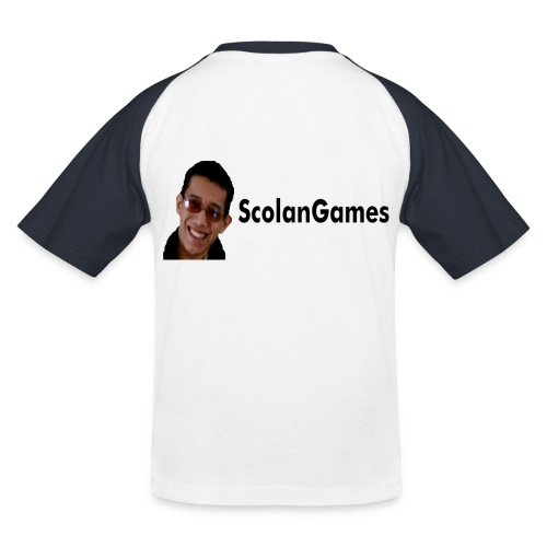 ScolanGames kindershirt - Kinderen baseball T-shirt