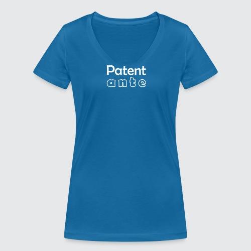 Patent ante - Frauen Bio-T-Shirt mit V-Ausschnitt von Stanley & Stella