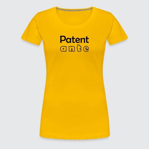 Patent ante - Frauen Premium T-Shirt