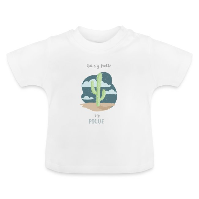 cactus shirt // bébé