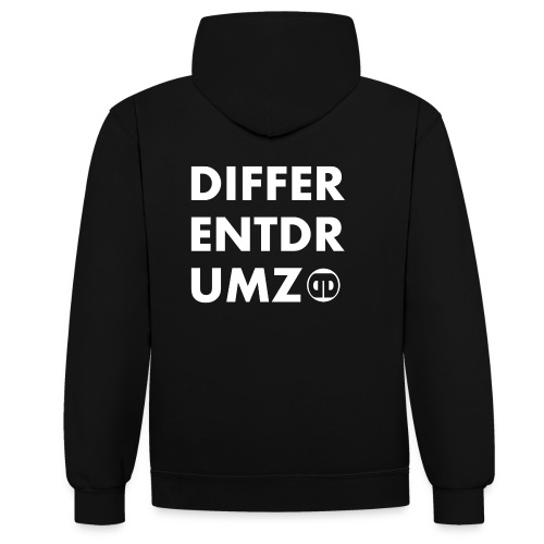 DD Two-Tone Hoodie V2 - Contrast Colour Hoodie