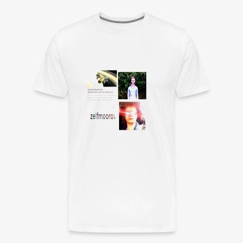 Zelfmoord T-Shirt Heren - Men's Premium T-Shirt