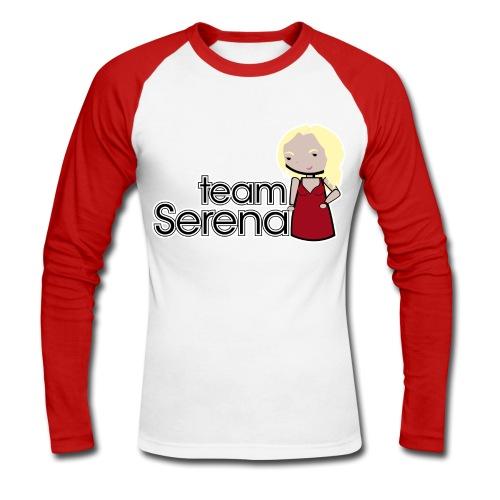 Camiseta Gossip Girl, Team Serena - chico manga larga - Raglán manga larga hombre