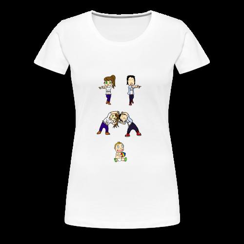 Fusion - T-shirt Premium Femme