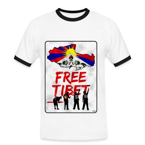 GypsyKream - Camiseta contraste hombre