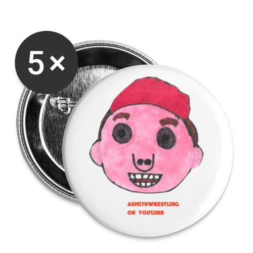 cartoon me button - Buttons small 25 mm