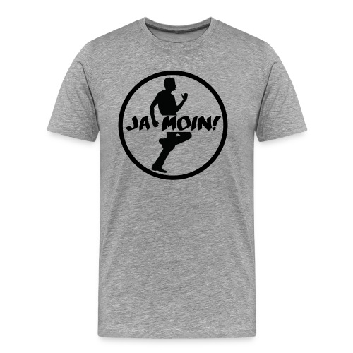 Jumpgeil Men Shirt Ja Moin - Männer Premium T-Shirt