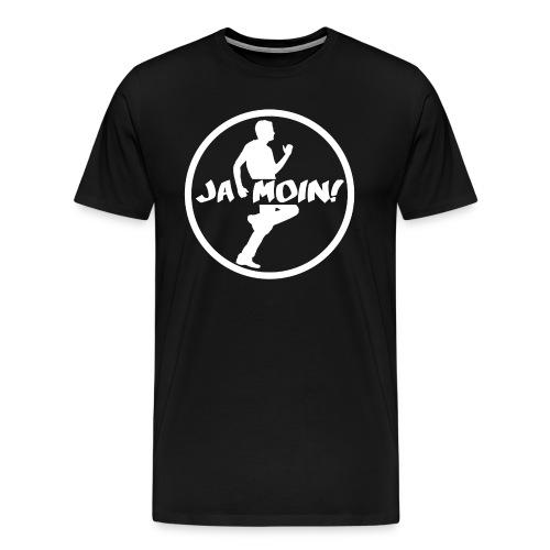 Jumpgeil Men Shirt Ja Moin Weiß - Männer Premium T-Shirt