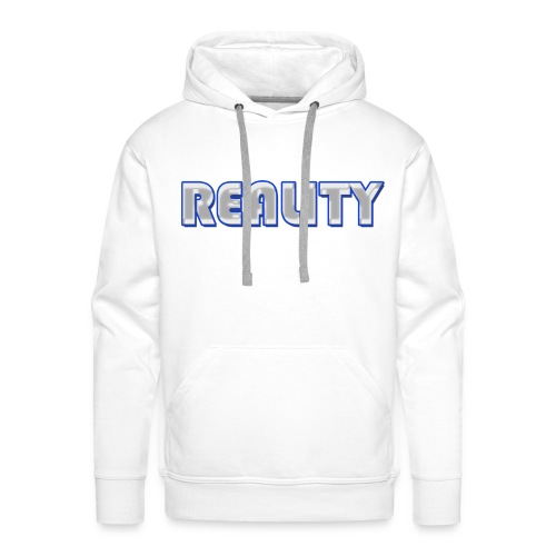 Mens REALITY Hoodie  - Men's Premium Hoodie