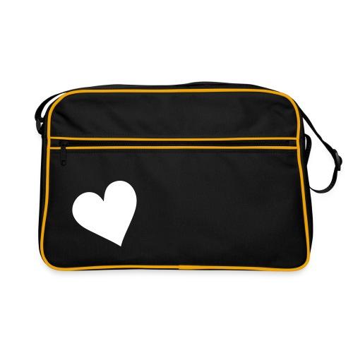 heart on my bag - Retroväska