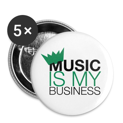 Maxi badge music is my business - Badge grand 56 mm