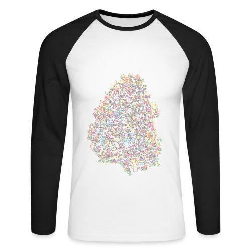 DigiNug - Men's Long Sleeve Baseball T-Shirt