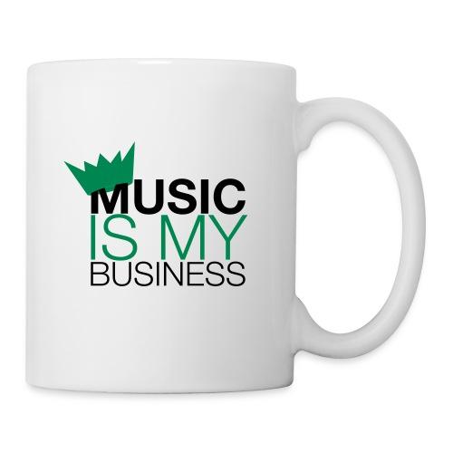Mug Music is my business - Mug blanc