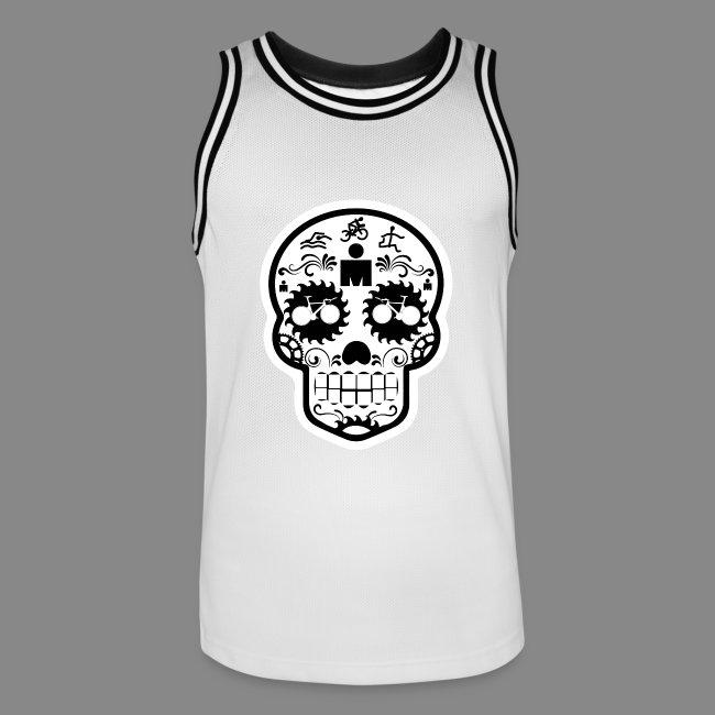 a2f35938c54 Sugar Skull - Men s Basketball Jersey