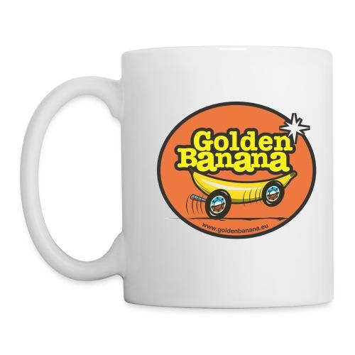 Mug Golden Banana DROITIER - Mug blanc