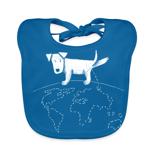 Geograpee - Baby Organic Bib